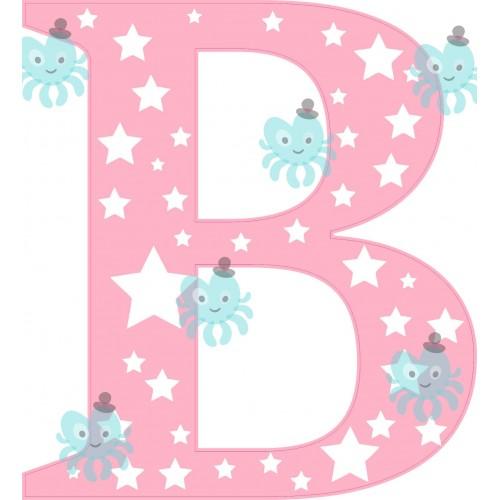 B betű falmatrica
