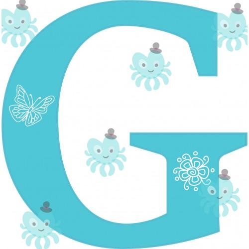 G betű falmatrica