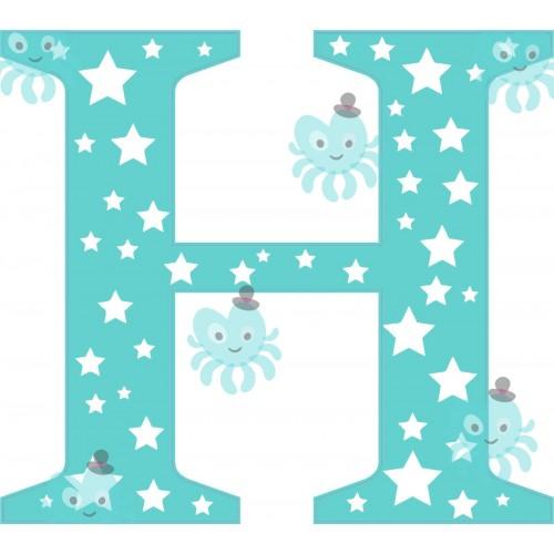 H betű falmatrica