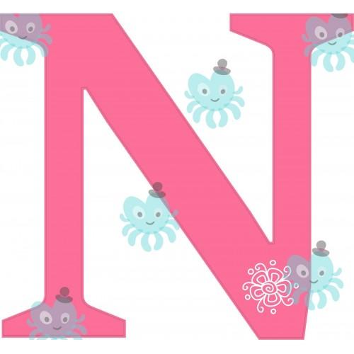 N betű falmatrica