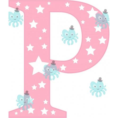 P betű falmatrica