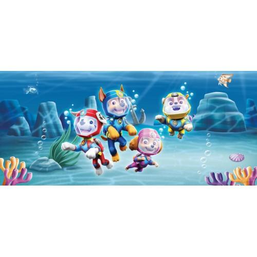 Mancs őrjártos vízalatti világ poszter, 202 x 90 cm