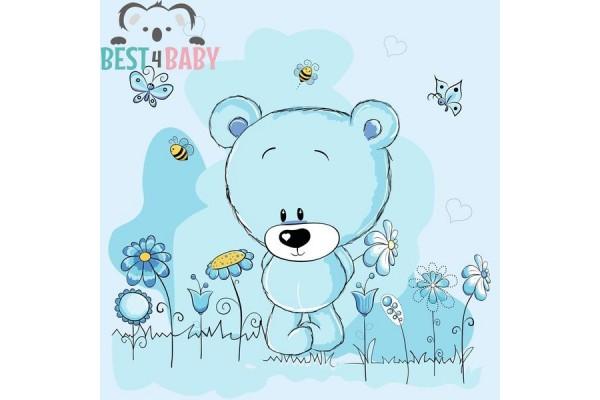 Kék macis poszter
