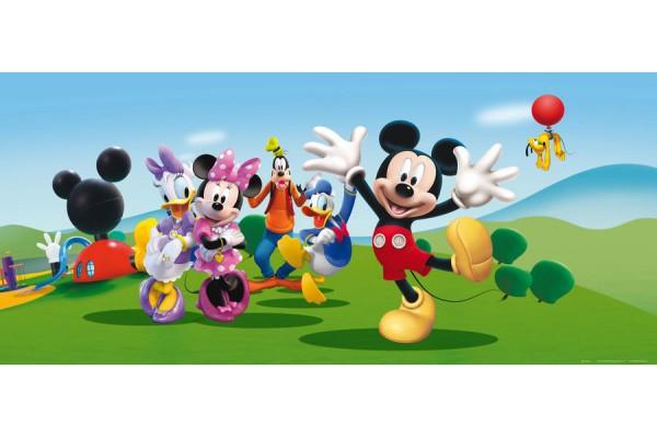 Minnie és Mickey fekvő poszter