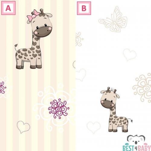 Zsiráfos tapéta