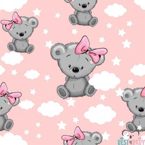 Koalamacis gyerekszoba tapéta, lány
