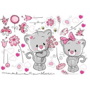Cicák szerelmes pár