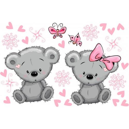 Koala kislány, pink