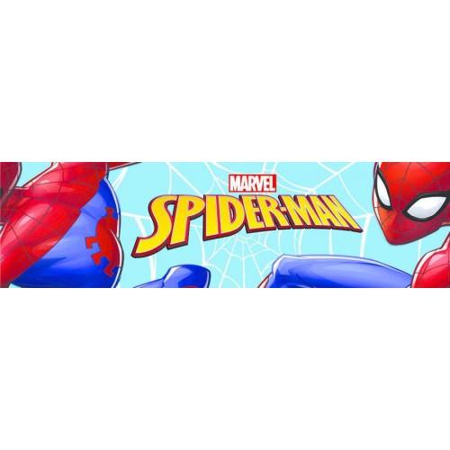 Pókember gyerekszoba bordűr, kisfiú, 14 cm