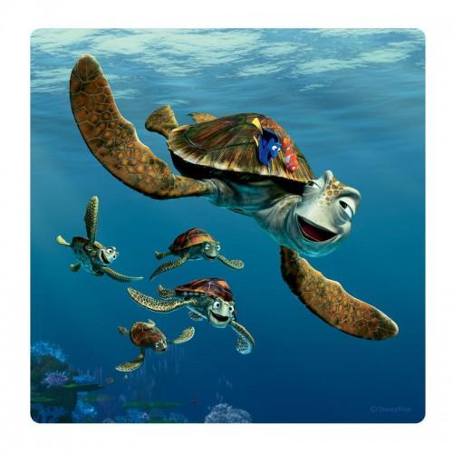 Némós, teknősös falikép