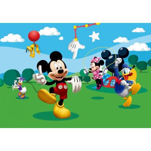 Mickey egeres gyerekszoba poszter