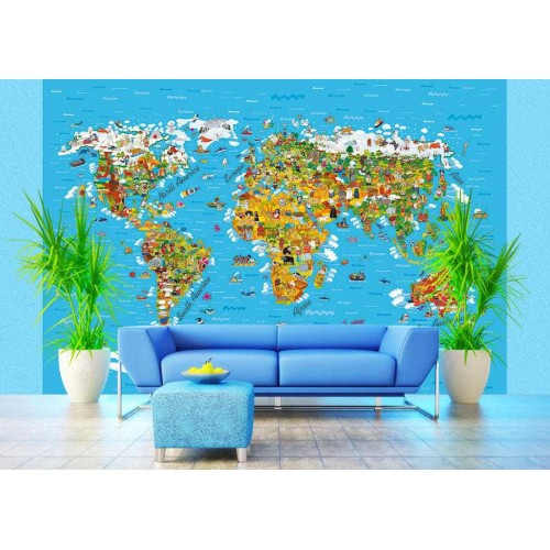 Világ térkép poszter